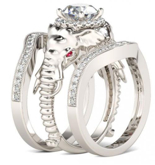 Jeulia elephant ring