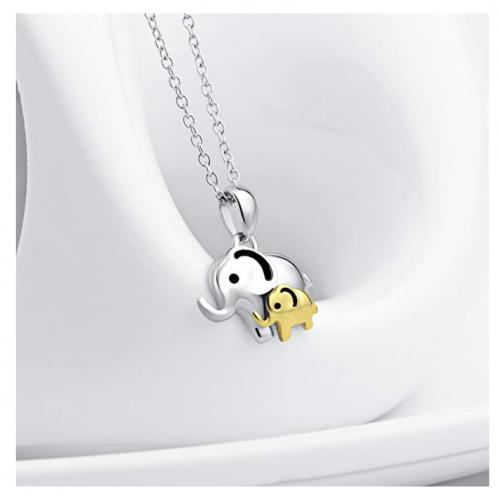 Angel Caller elephant necklace