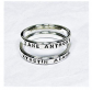 The Copper Phoenix Stacking Name Rings - Set
