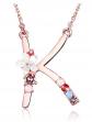 Gemmance Rainbow Letter Necklace