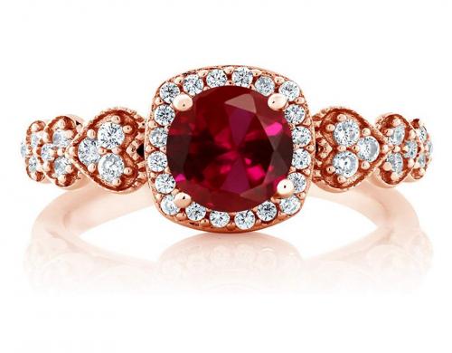 Gemstone King Ruby Ring