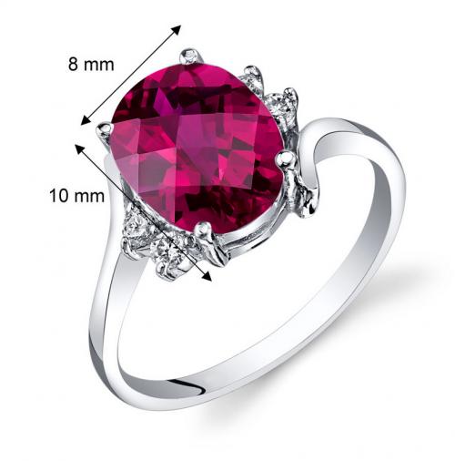 Ruby & Oscar Ruby Engagement Ring Size