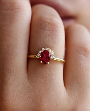 We Love These Ruby Engagement Rings!