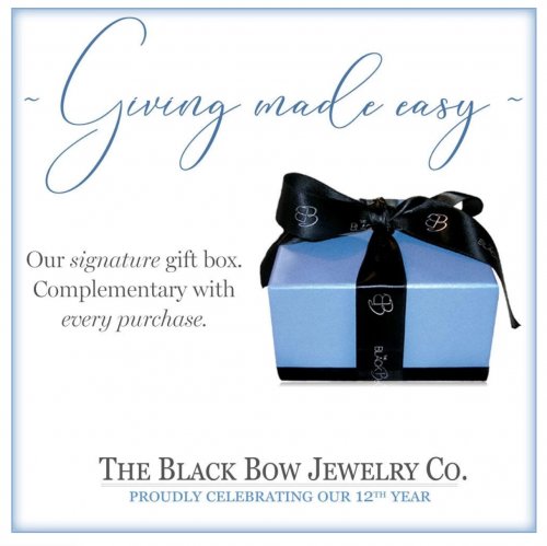 Black Bow Jewelry & Co. Gift Box