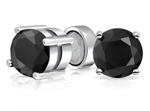 Bling Jewelry Cubic Zirconia Magnetic Clip On Earrings