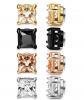 LOYALLOOK Stainless Steel Magnetic Earrings