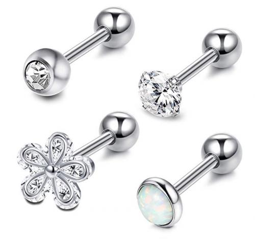 LOYALLOOK 4-6Pcs Helix Earrings