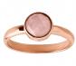Silpada 'Making Me Blush' Natural Rose Quartz Ring