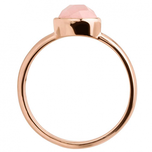 Silpada 'Making Me Blush' Natural Rose Quartz Ring Horizontal View