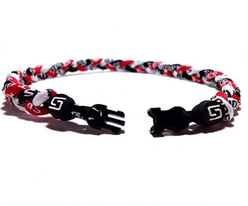 Sport Ropes 3 Rope Titanium Necklace Clasp
