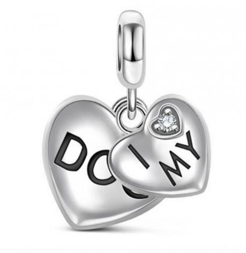 'I Love My Dog' Dog Jewelry Bracelet Charm