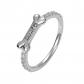 AILIN Jewelry Personalized Dog Bone Name Ring
