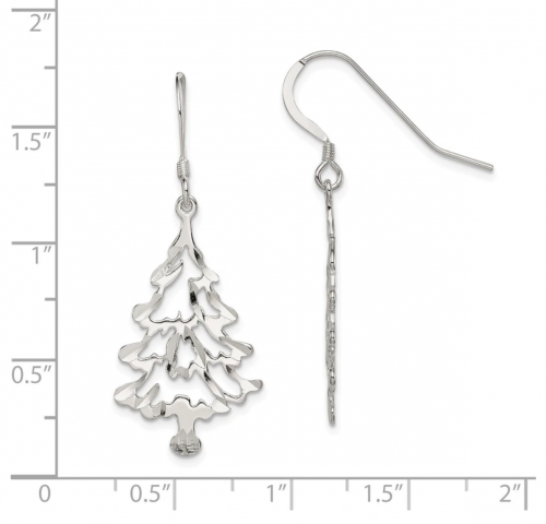Black Bow Jewelry & Co. Christmas Earrings - Size