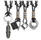 JOERICA Leather Necklace Set