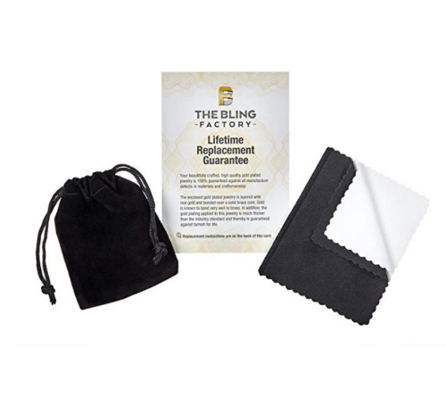 The Bling Factory pouch & warranty