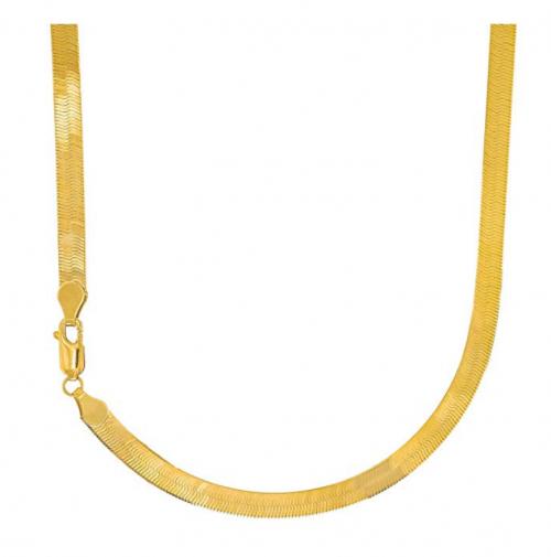 JewelStop Herringbone chain Necklace
