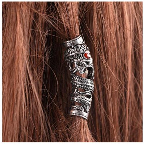 PIAOPIAONIU 10 Pcs Hair Tube Beads on Hair