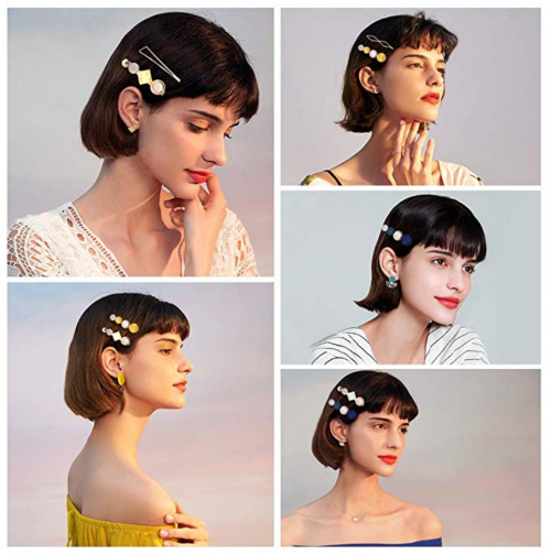 Cehomi Korean Style Hair Clips on Model