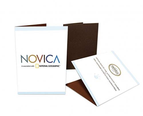 NOVICA booklet