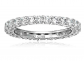 Amazon Essentials Sterling Silver and Cubic Zirconia Band