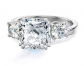 Samie Collection 3-Stone Cubic Zirconia Ring