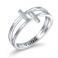 FLYOW Double Cross Ring