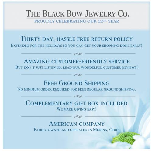 Black Bow Jewelry & Co. Benefits