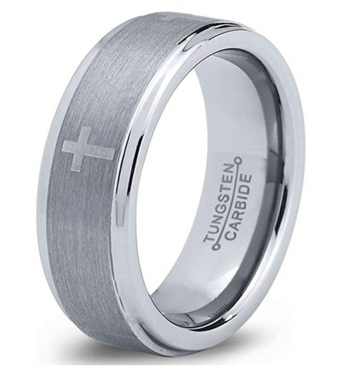Charming Jewelers Tungsten Wedding Band