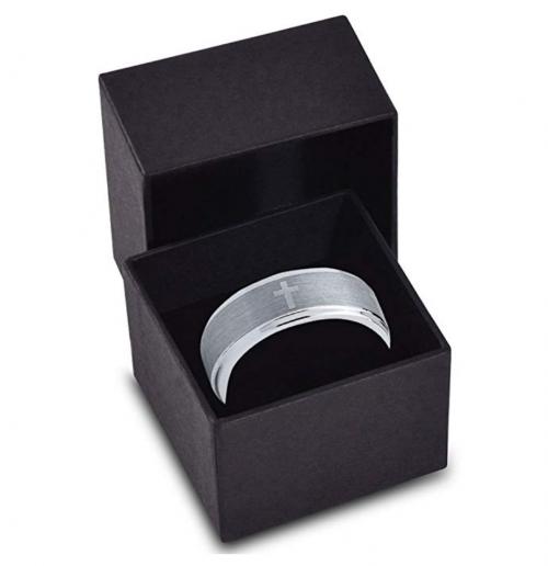 Charming Jewelers Tungsten Wedding Band Gift Box