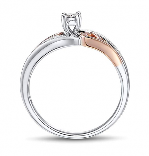 Diamond Classic Jewelry Ring Profile