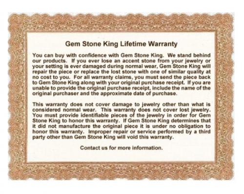 Gem Stone King Warranty