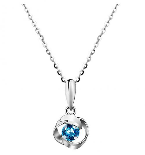 Carleen London Blue Topaz Necklace