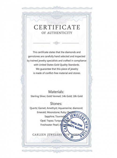 Carleen Certificate of Authenticity