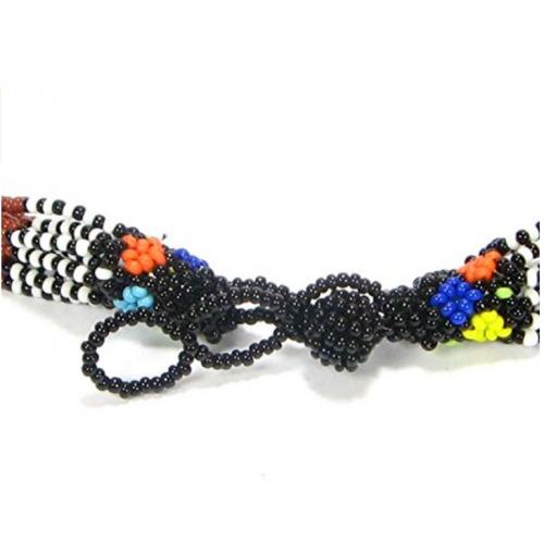 Viva African Maasai Jewelry Set Detail