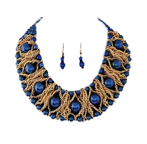 Nataliya African Necklace
