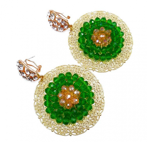 Aczuv Nigerian Wedding Earrings