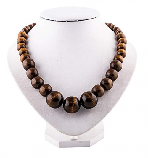 EVBEA Unisex Wood African Necklace