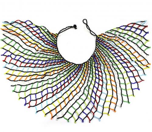 DOLLY DOLLY Zulu Beaded Necklace