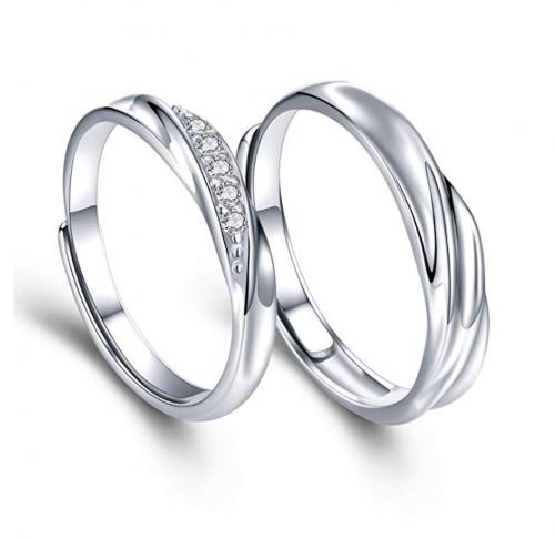 Sassu Fine Adjustable Couple Rings