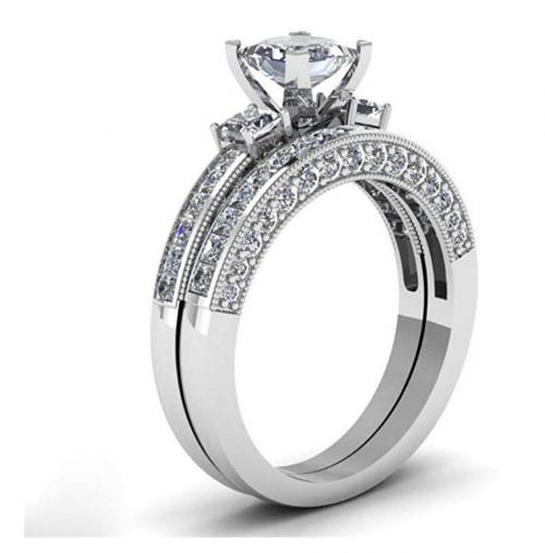Loversring Couple Ring Set - Women's Band
