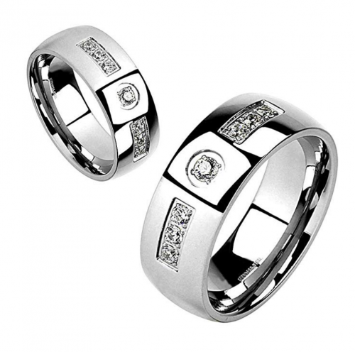FlameReflection Couple Ring Set - His