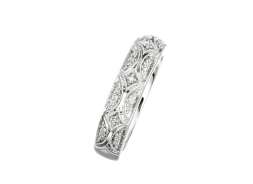 Amazon Collection Sterling Silver Anniversary Ring 2