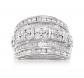 Ross-Simons Diamond Multi-Row Ring