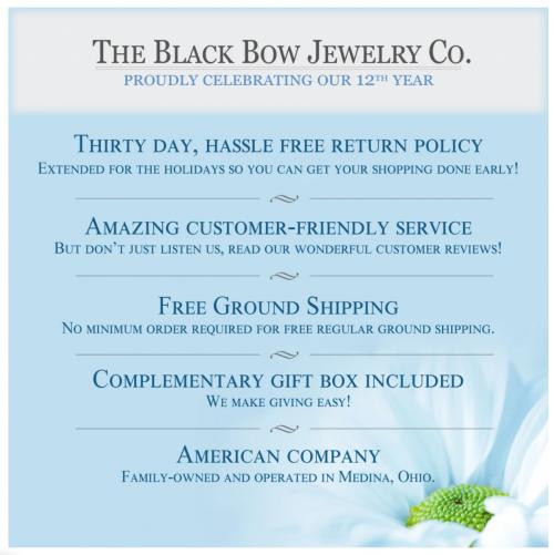 The Black Bow Jewelry Co. Warranty