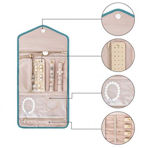 Bagsmart Travel Jewelry Organizer Details 2
