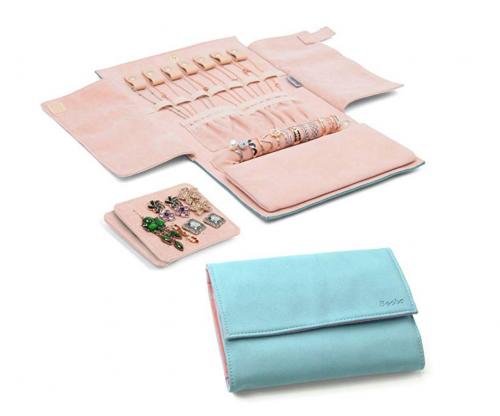 Becko Jewelry Roll Travel Bag