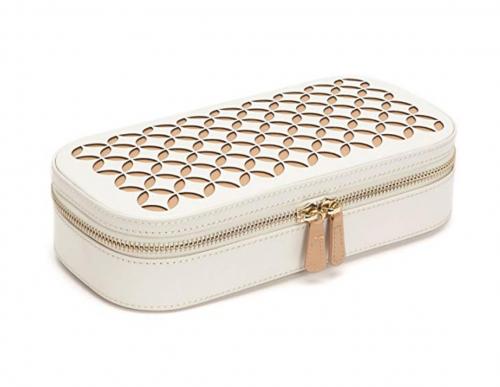 WOLF Chloé Zip Jewelry Travel Case