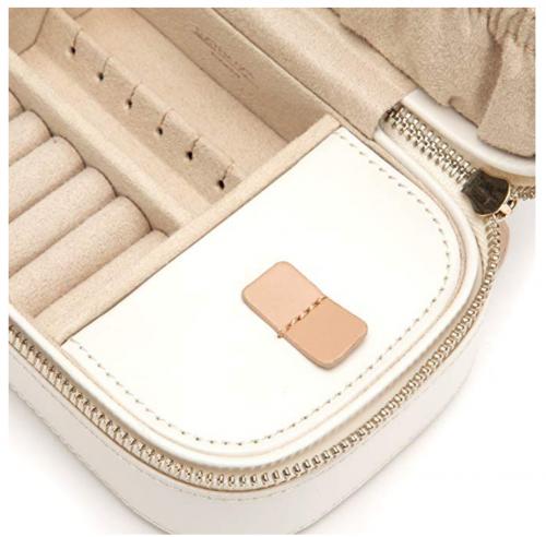 WOLF Chloé Zip Jewelry Travel Case Lining