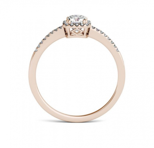 Charles & Colvard-Accents Engagement Ring Profile