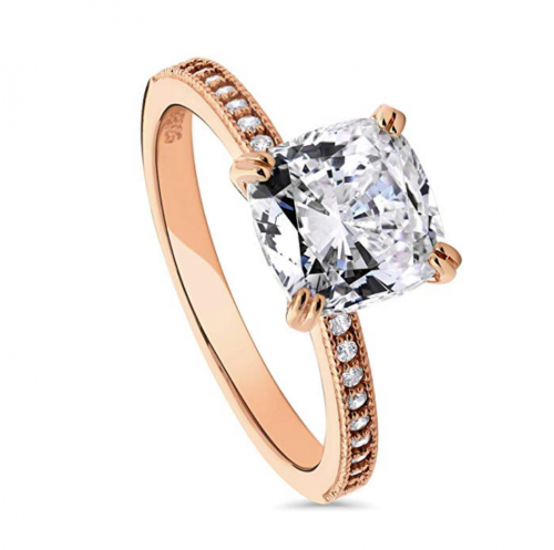 BERRICLE Rose Gold Engagement Ring